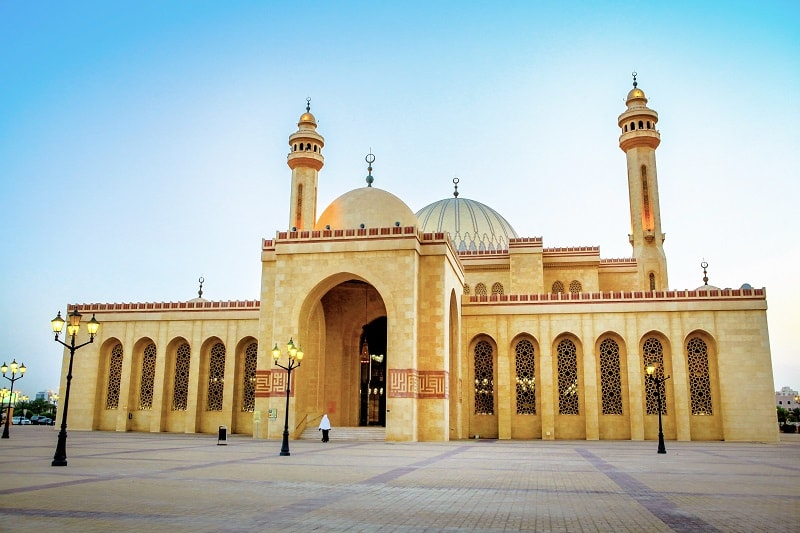 Al Fateh Grand Mosque in Bahrain