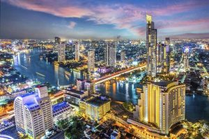 Bangkok Skyline - Your Next First Class Destination - Just Fly Business