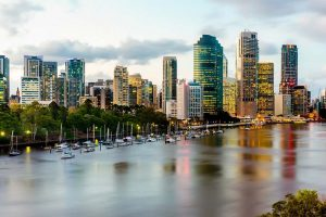 Brisbane City Skyline - Your Next Business Class Destination - Just Fly Business