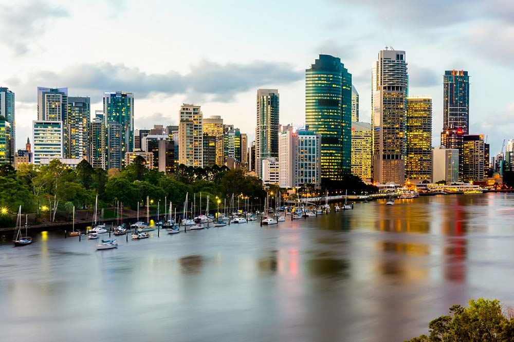 Brisbane City Skyline - Your Next First Class Destination - Just Fly Business