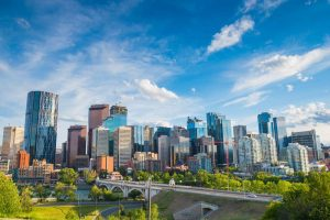 Calgary Skyline - Your Next First Class Destination | Just Fly Business