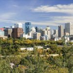 Edmonton Skyline - Your Next First Class Destination - Just Fly Business