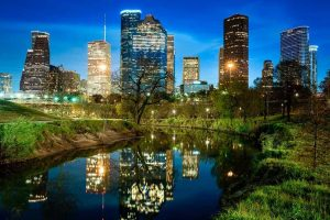 Houston City Skyline - Your Next First Class Destination - Just Fly Business