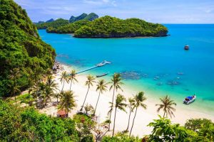 White Sand Beach in Koh Samui - Your Next First Class Holiday - Just Fly Business
