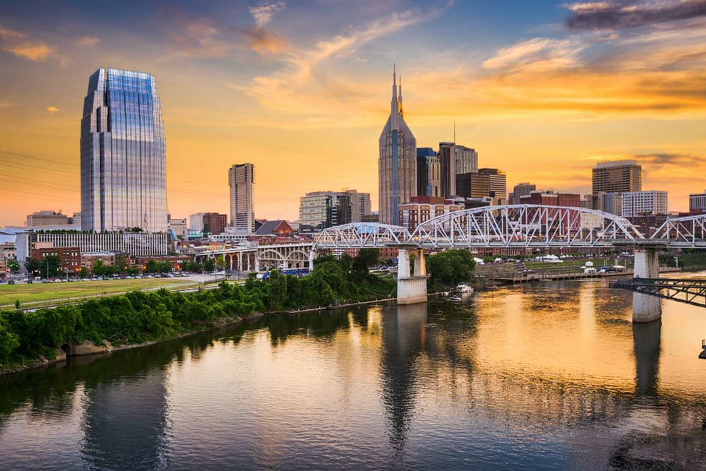 Nashville Skyline - Your Next First Class Destination | Just Fly Business