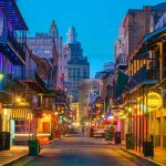 Bourbon Street in New Orleans - Your Next First Class Destination - Just Fly Business