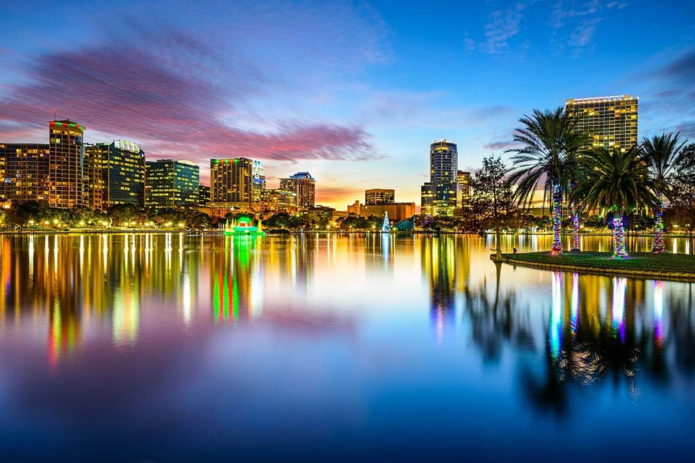 Orlando Skyline - Your Next First Class Destination - Just Fly Business