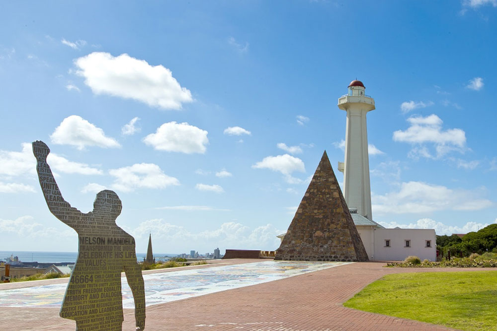 Nelson Mandela Sculpture - Your Next First Class Destination - Just Fly Business