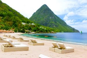 The Pitons - Business Class Flights to St Lucia | Just Fly Business