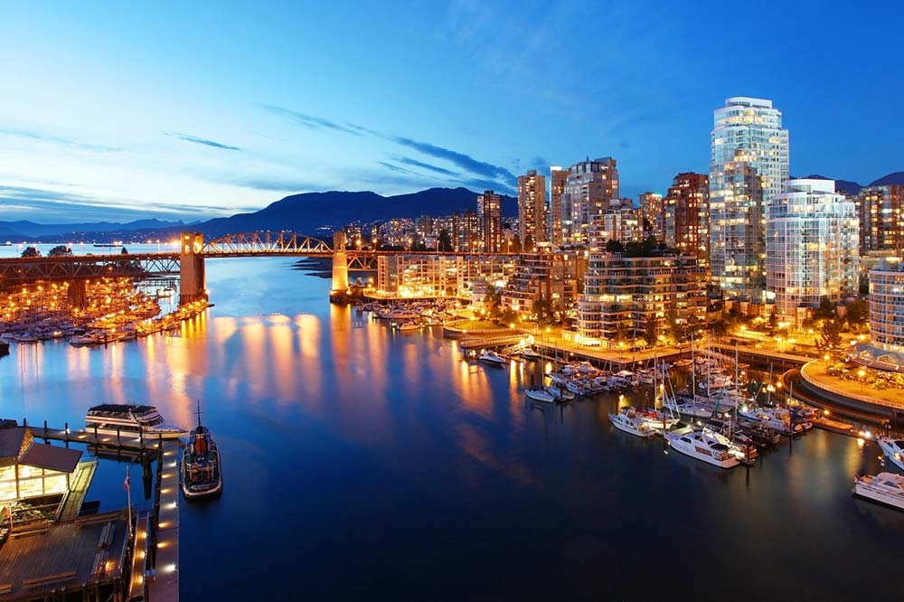 Vancouver Skyline - Your Next First Class Destination - Just Fly Business