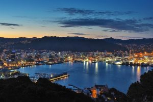 Wellington Skyline - Your Next First Class Destination - Just Fly Business