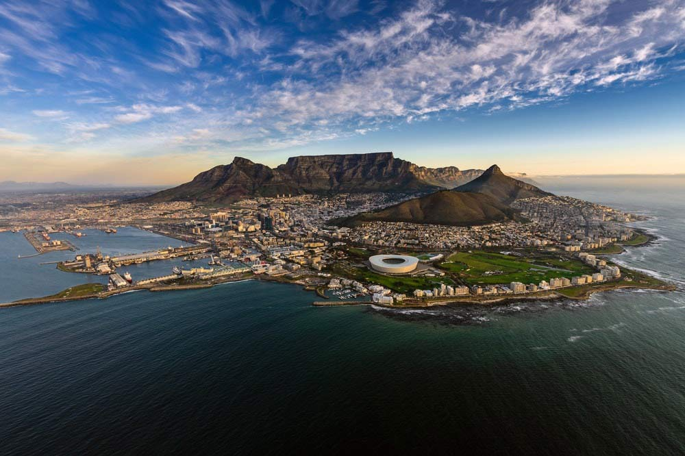 Cape Town Skyline - Your Next First Class Destination - Just Fly Business