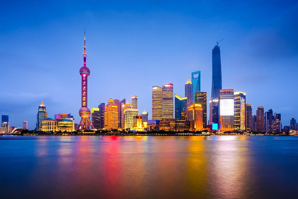 Shanghai Skyline - Your Next Business Class Destination | Just Fly Business