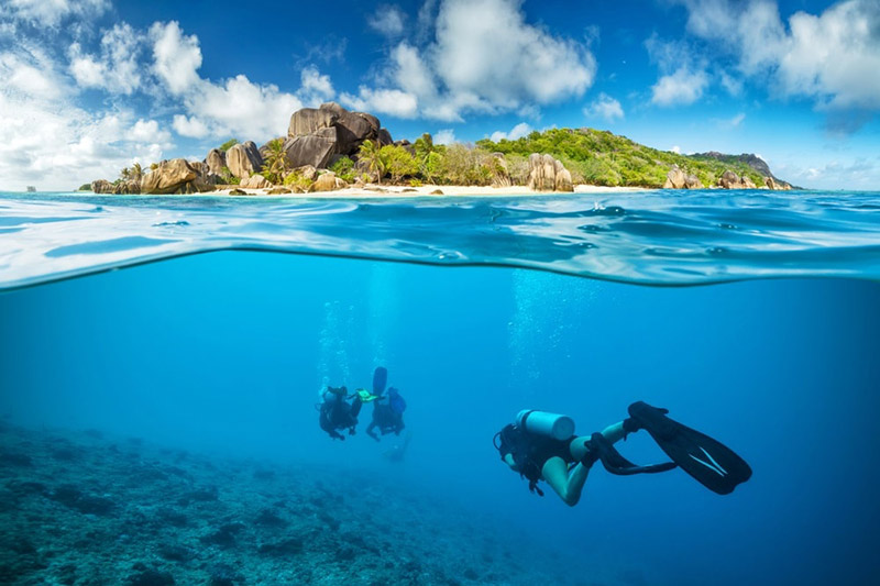 Diving in Seychelles
