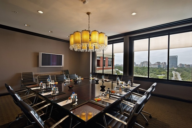 Boardroom at Hotel Zaza in Houston Texas