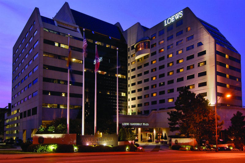 Loews Vanderbilt Hotel in Nashville, Tennessee