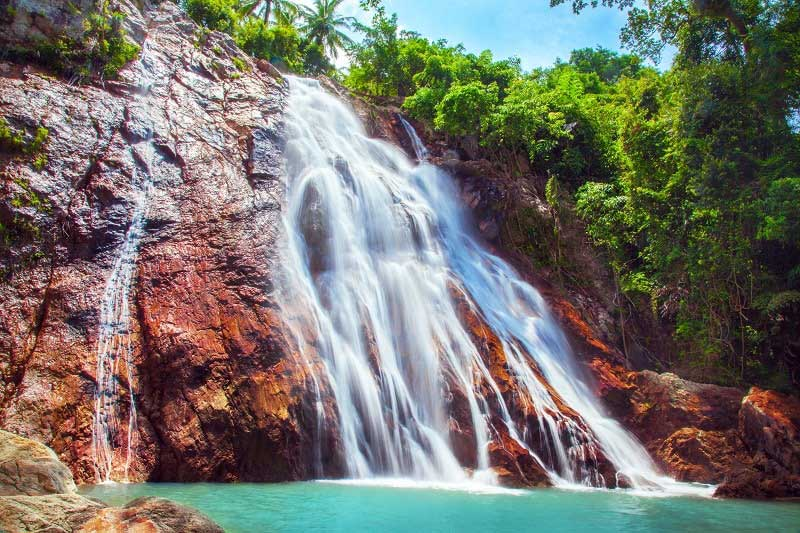 Namuang Waterfall in Koh Samui, Thailand