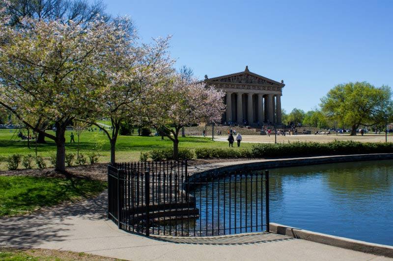 Parthenon in Centennial Park in Nashville, Tennessee