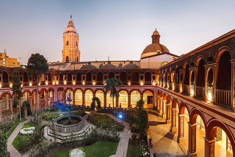 Santo Domingo Monastery - Lima Peru | Just Fly Business