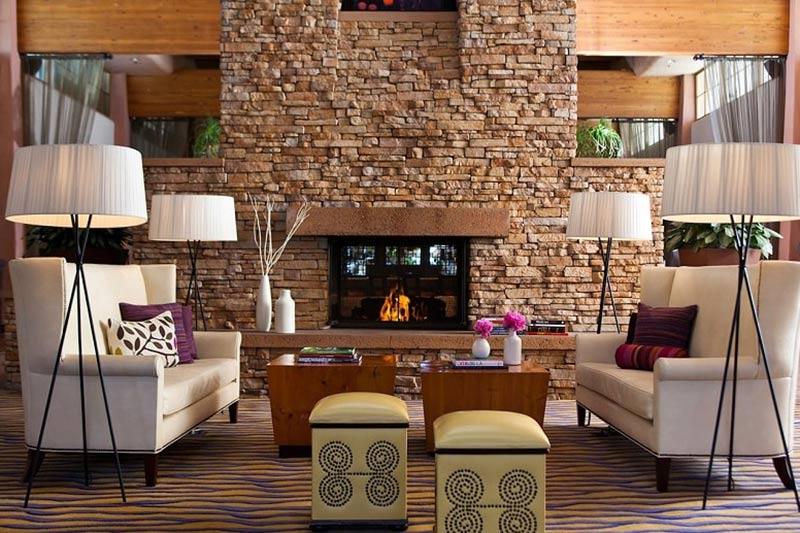 Lobby of The Scott Resort and Spa in Phoenix, Arizona