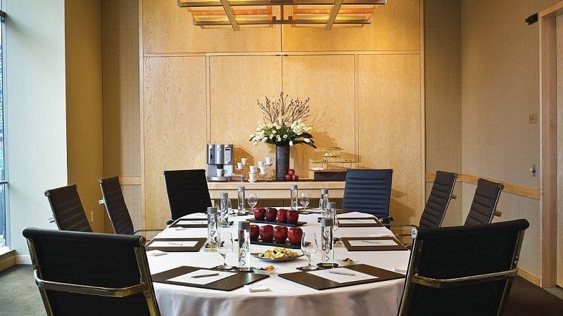Boardroom of Four Seasons Hotel in Seattle
