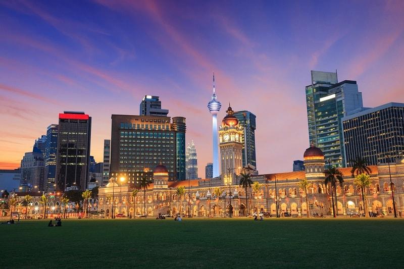 Samad Building in Kuala Lumpur