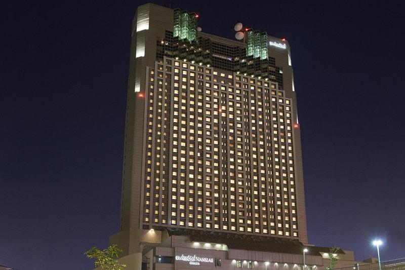 Swissotel Nankai Exterior in Osaka, Japan