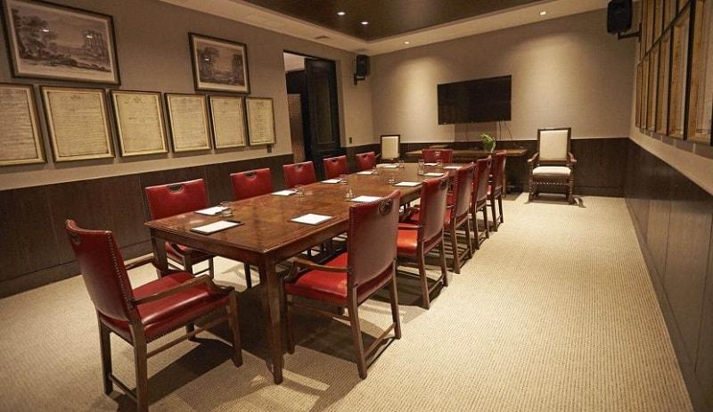 Boardroom in The Singular Hotel in Santiago de Chile
