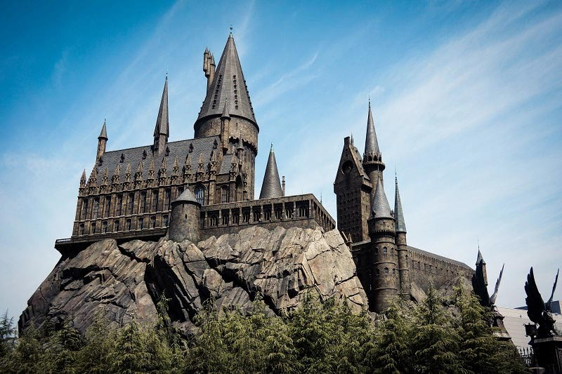 Wizarding World of Harry Potter at Universal Studios in Osaka, Japan