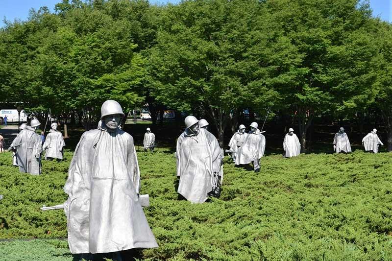 War memorial in Seoul