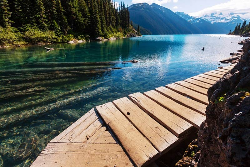 Lake in Whistler - Vancouver Canada - Just Fly Business