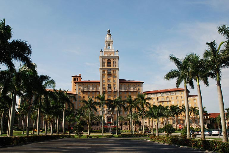The Biltmore Hotel in Miami - Just Fly Business