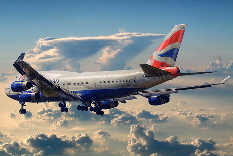 British Airways Boeing 747 - Just Fly Business