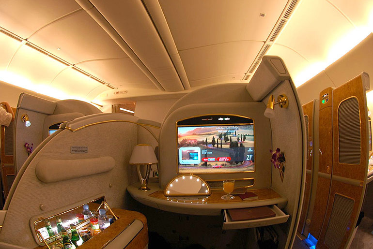 First Class Suite - Business Class vs First Class - Just Fly Business