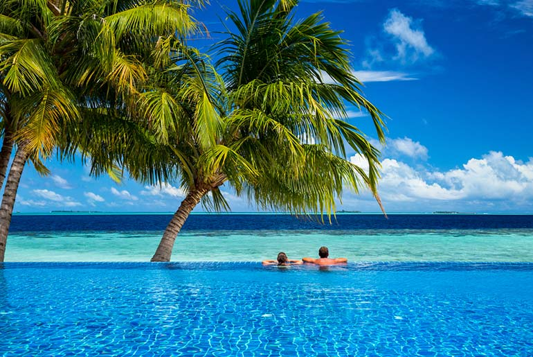 Infinity Pool - Most Romantic Honeymoon Destinations - Just Fly Business
