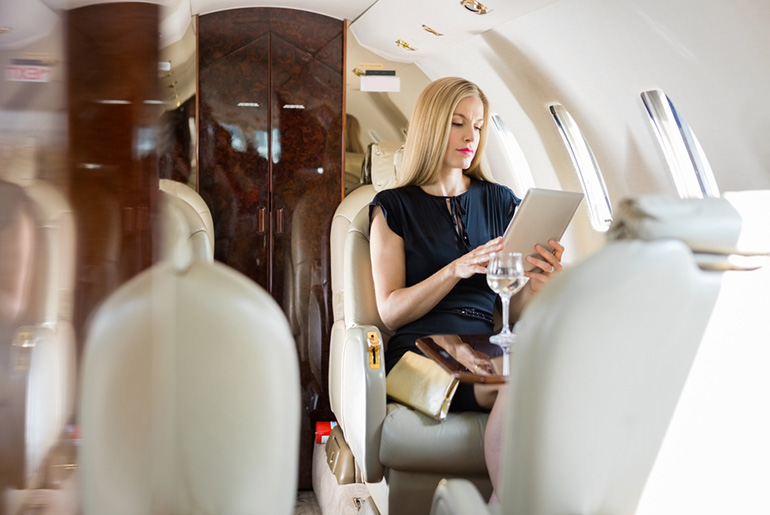 Luxury Plane Cabin - Age of Affordable Business Class - Just Fly Business