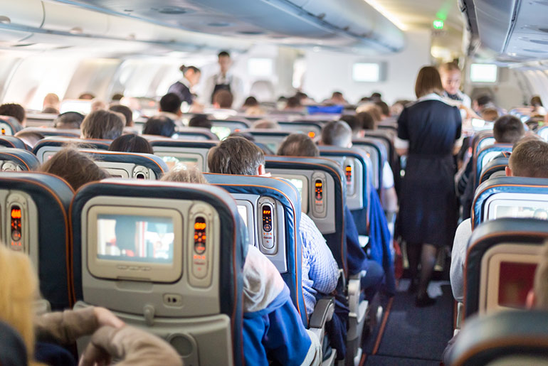 Plane Cabin - Annoying Passengers - Just Fly Business