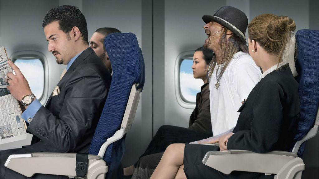 meet and seat passengers