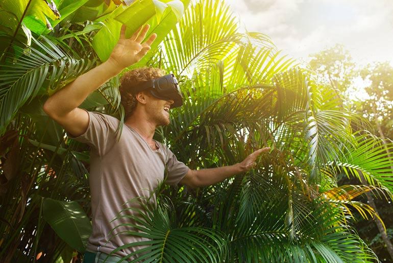 Virtual reality holidays