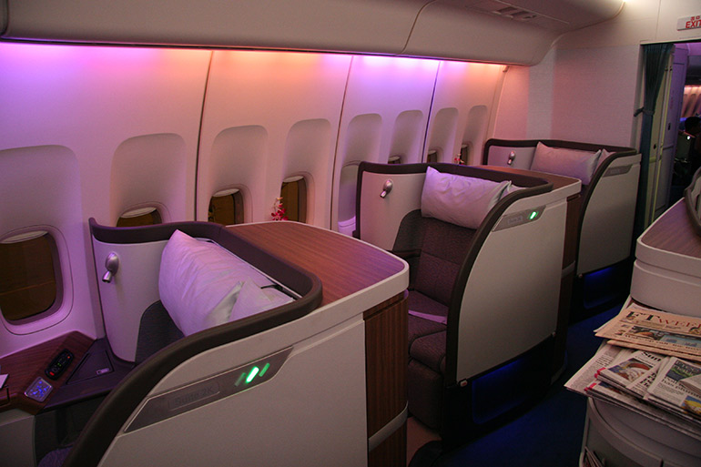 Business Class Suite - Just Fly Business