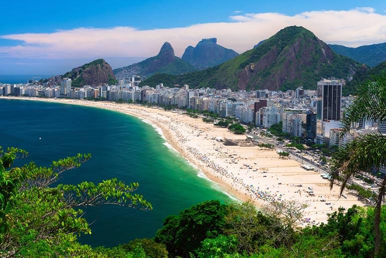 Copacabana Beach Rio
