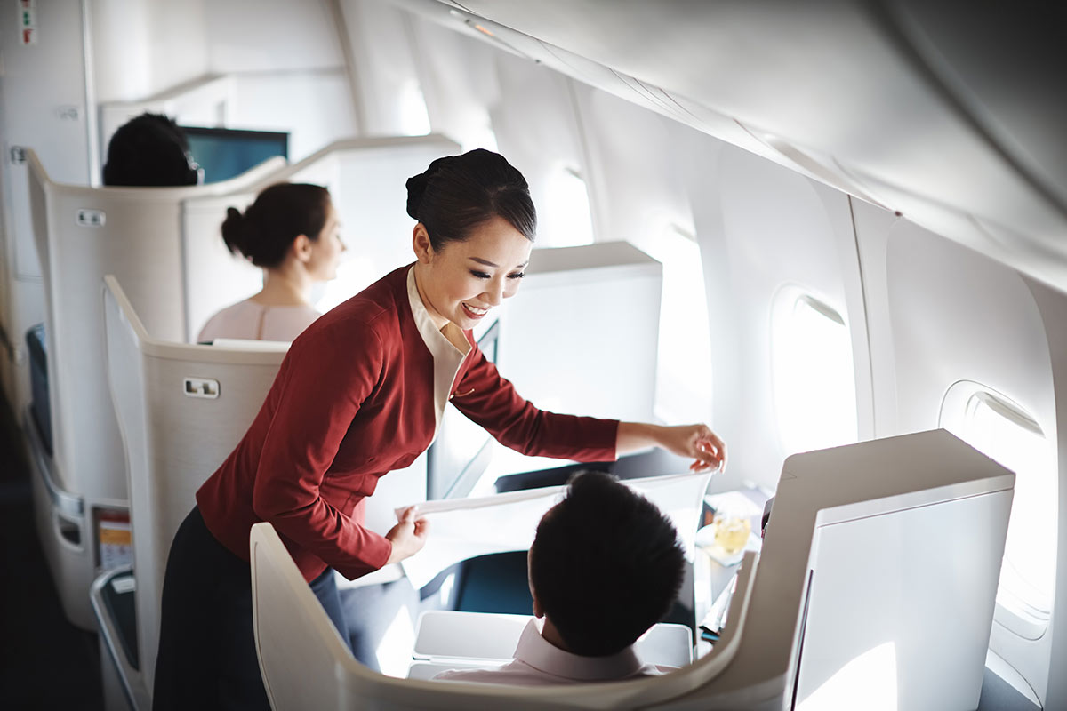 Your Next Means of Travelling - Cathay Pacific Business Class | Just Fly Business