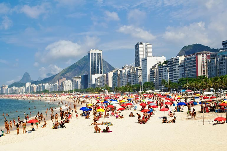 Leme Beach - Must Visit Beaches in Rio | Just Fly Business