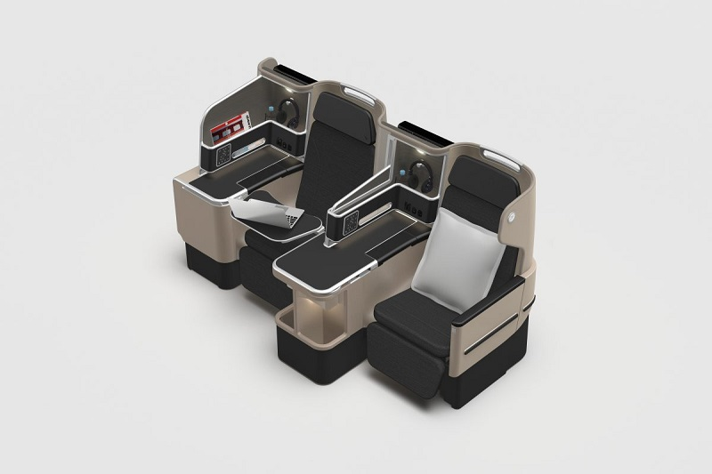 New QANTAS Business Class Suite on Boeing 787-9 Dreamliner