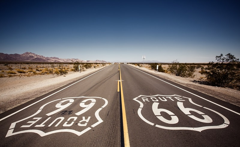 Driving Route 66 in America