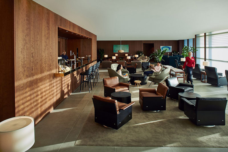 Cathay Pacific Business Class Heathrow Lounge