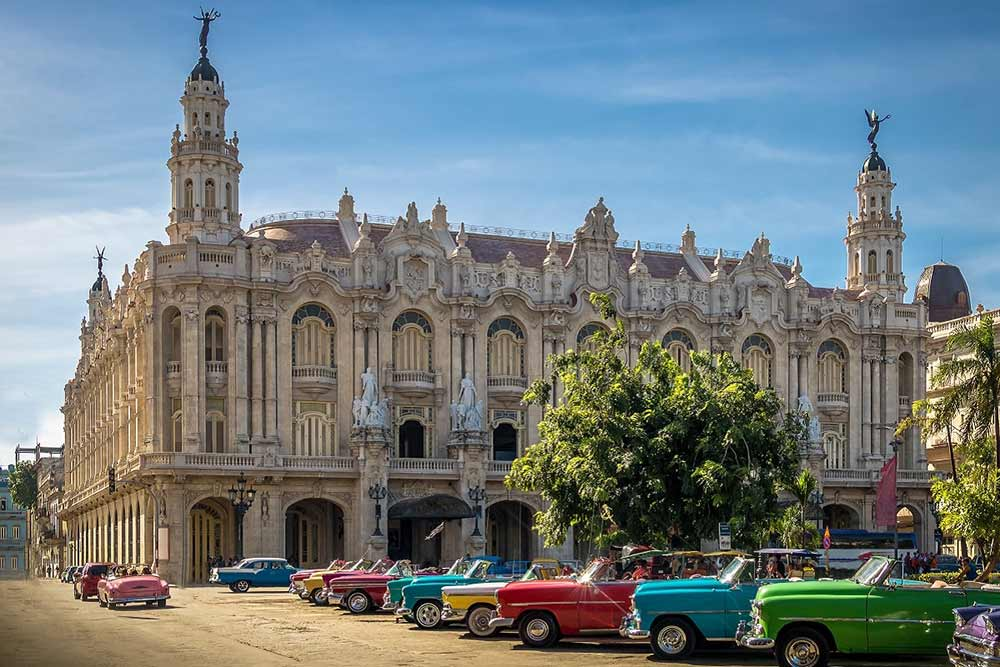 City Skyline in Havana, Cuba