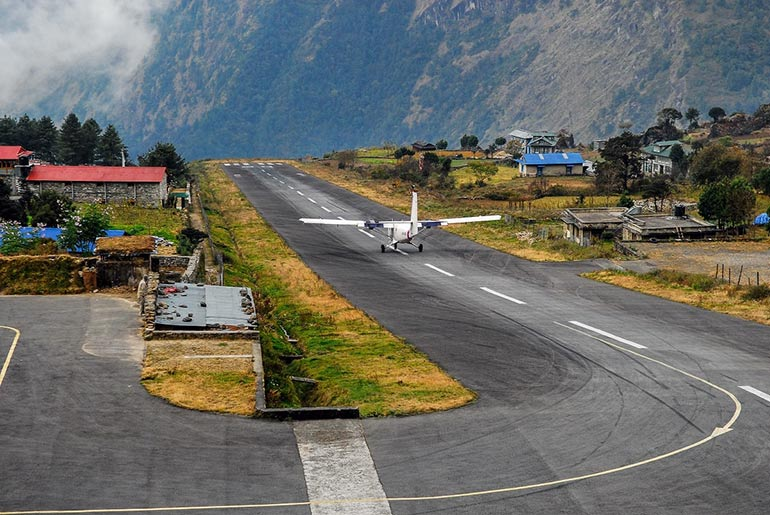 Tanzing Hillary Airport Nepal - Dangerous Airports - Just Fly Business