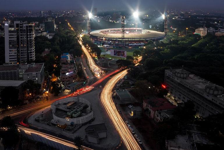 Cricket Ground in India