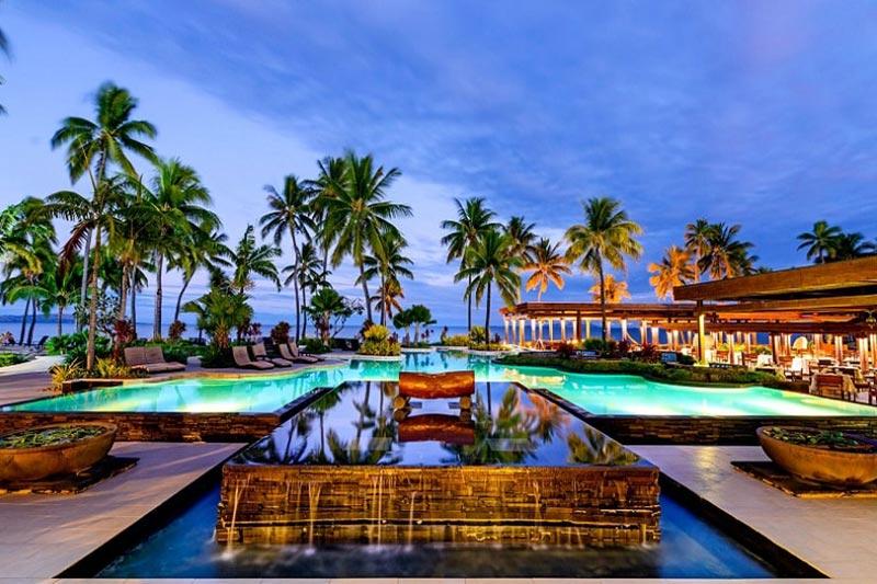 Sheraton Denarau Villas Pool in Nadi, Fiji